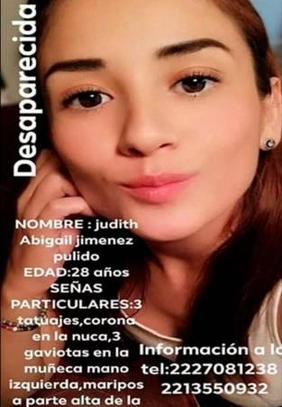 Resultado de imagen para Judith Abigail Jiménez Pulido
