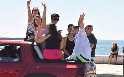 Llegan a Mazatlán más visitantes por vía carretera