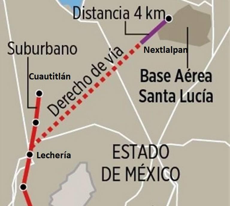 Tren Suburbano se ampliará hasta el nuevo aeropuerto de Santa Lucía - El Sol de Toluca | Noticias Locales, Policiacas, sobre México, Edomex y el Mundo