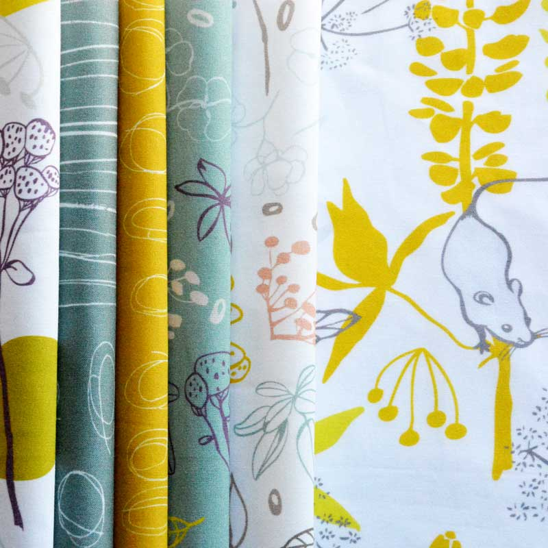 Autumn Sunrise, fabric collection by Els Vlieger