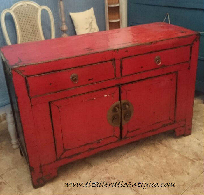 como cambiar el color a un mueble el taller de lo antiguo