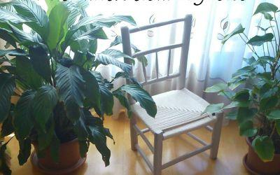 Recuperamos una silla anea recuerdo familiar