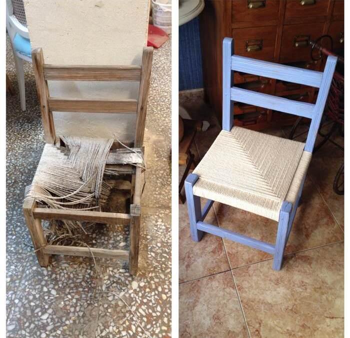 Como encordar una silla de campo
