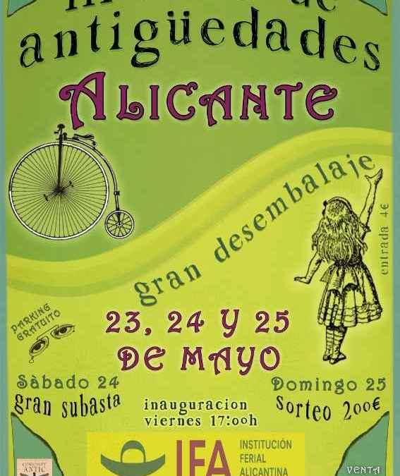 Feria de Antigüedades Alicante III edición