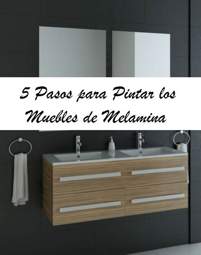 5 pasos para pintar muebles de melamina el taller de for Pintar muebles de formica