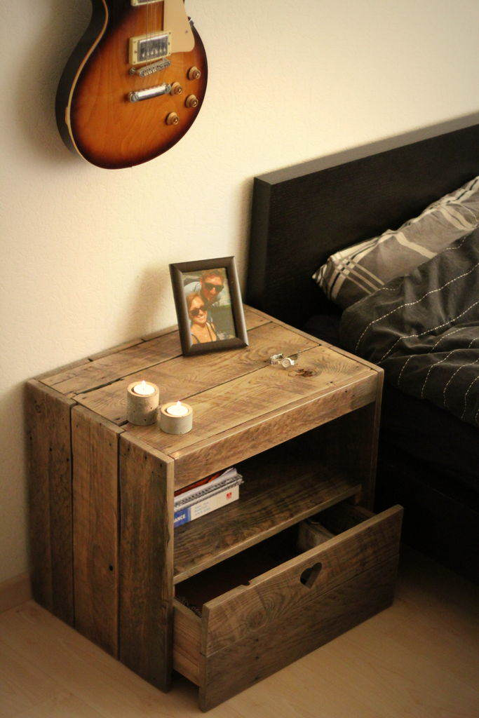 4 construir muebles con palets - Muebles Palets