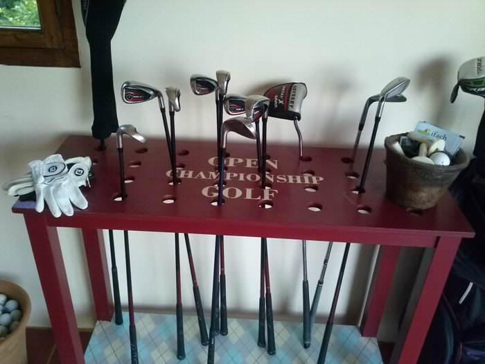 Pintamos una mesa de golf