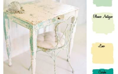Mary Paint Collection 2: Shabby chic verde