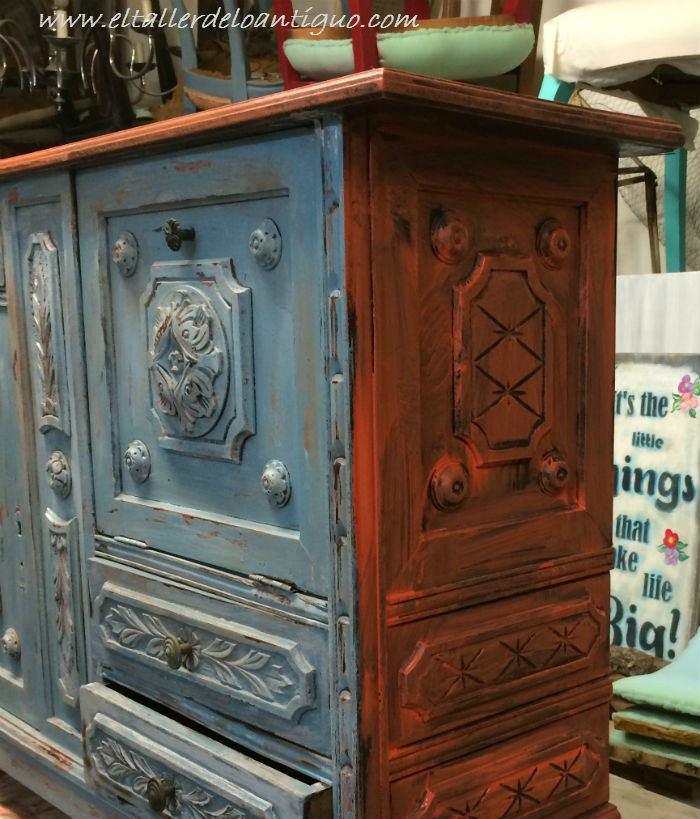 Pintar muebles estilo vintage amazing pintar muebles - Pintar muebles estilo vintage ...