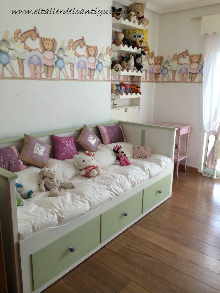 Como pintar muebles de ikea el taller de lo antiguo for Muebles blancos ikea