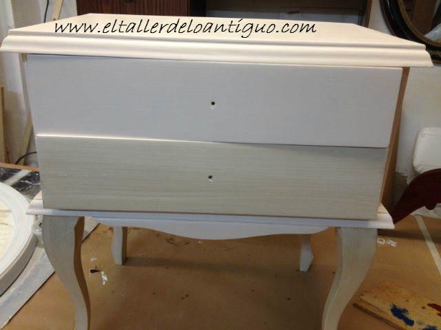 Hacer Veladuras con barniz para muebles