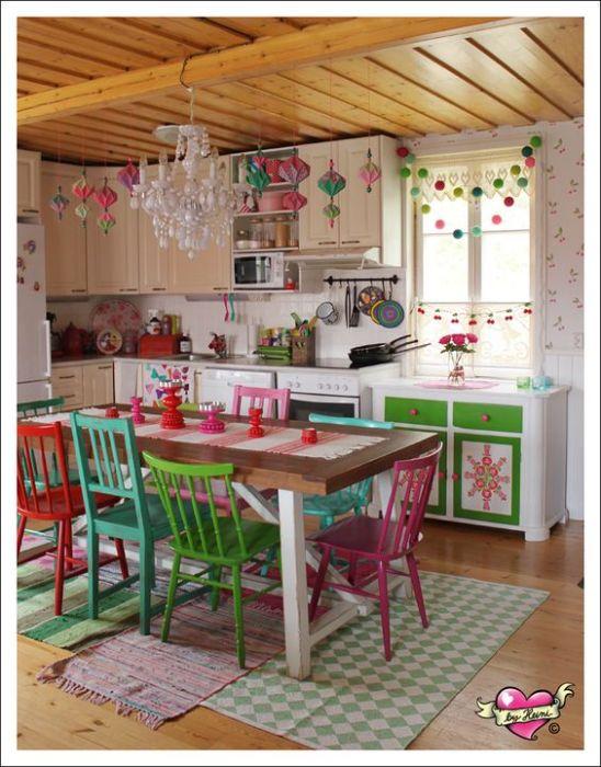 combinación de colores en un espacio decorativo.