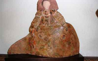 Base para figura de cerámica