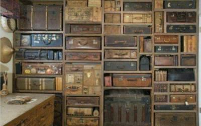 Como decorar espacios con maletas Las maletas no solo sirven para viajar