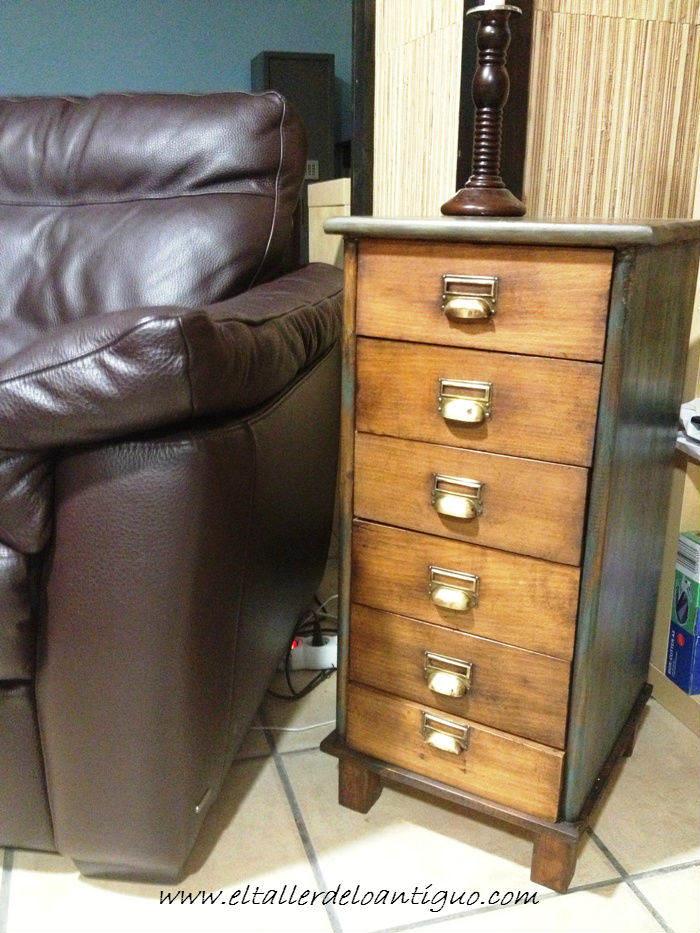 Cajones antiguos para un mueble el taller de lo antiguo - Reciclar muebles antiguos ...
