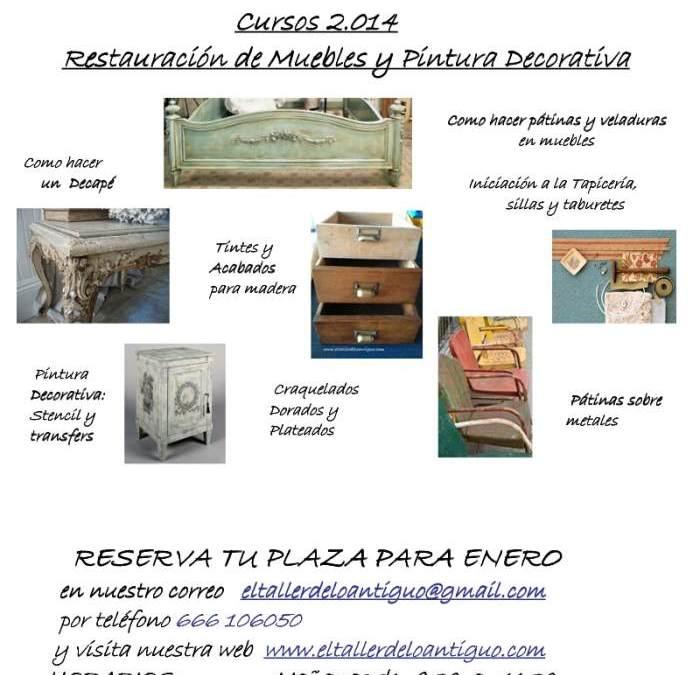 Cursos de Restauración 2014 en Alicante