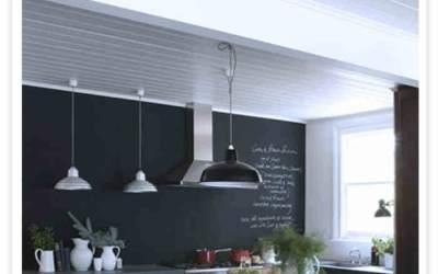 Pizarras en la cocina Decora tu cocina con pintura y haz una pizarra