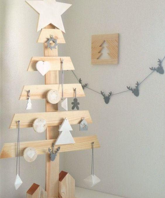 DIY Arbol de Navidad de Madera HAZ TU MISMO TU ARBOL DE NAVIDAD