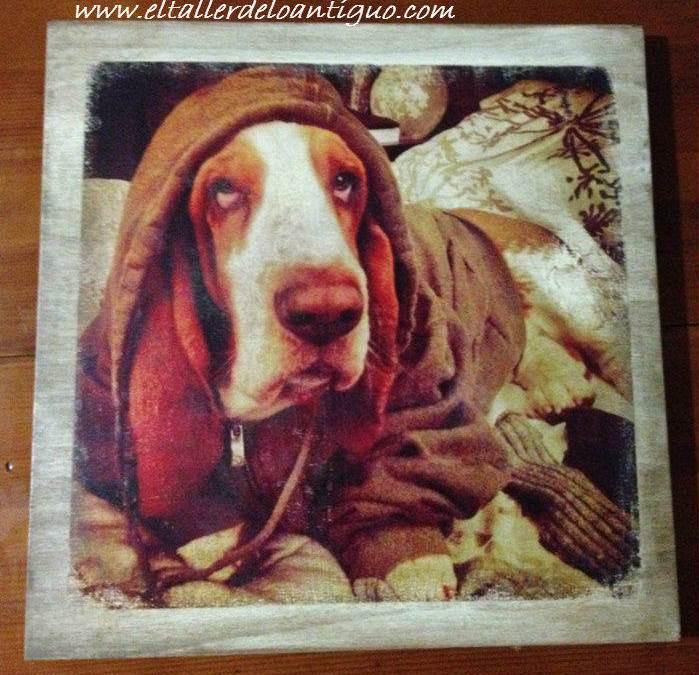 Personaliza tus imágenes en Cuadros vintage tus recuerdos familiares en madera por transferencia de imagen