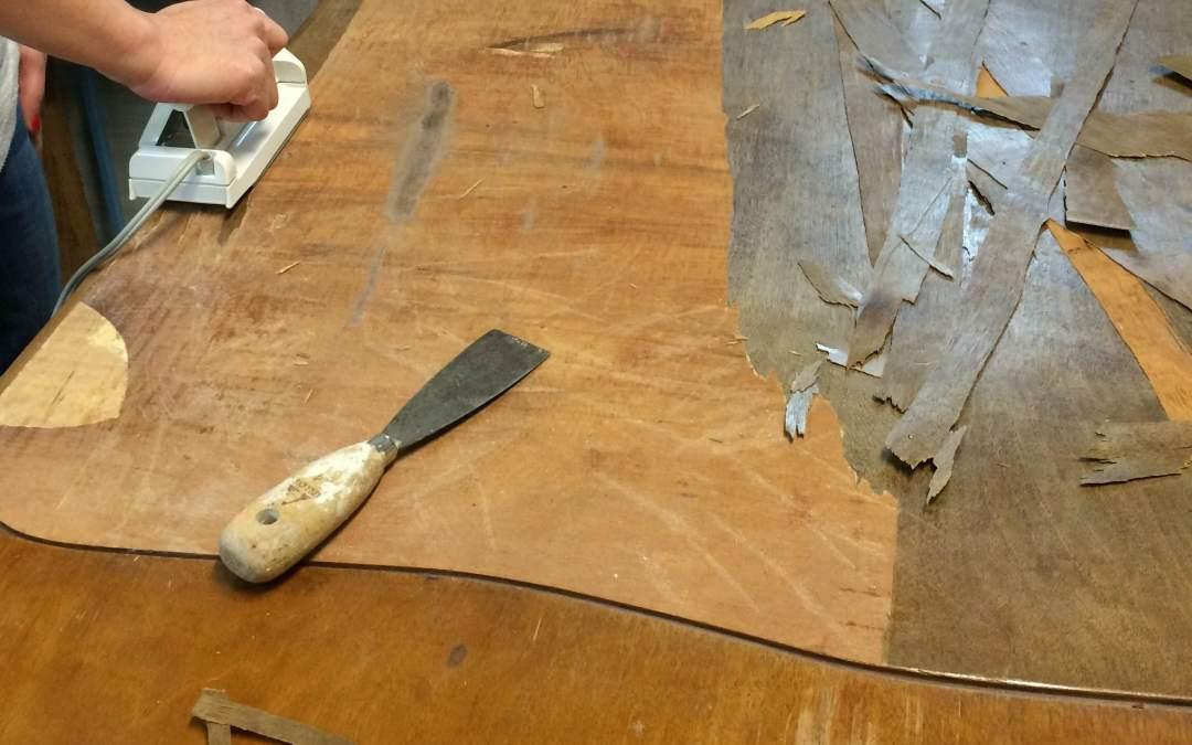Como despegar piezas de madera. tema 3 reparaciones de la madera