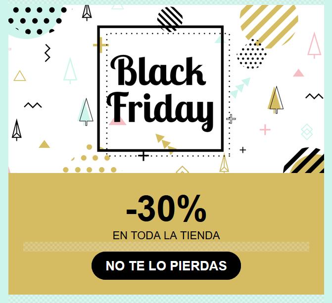 Black friday 30% de descuento en toda la tienda Compra tus productos de restauración el viernes o sábado y aprovéchate de nuestras rebajísimas
