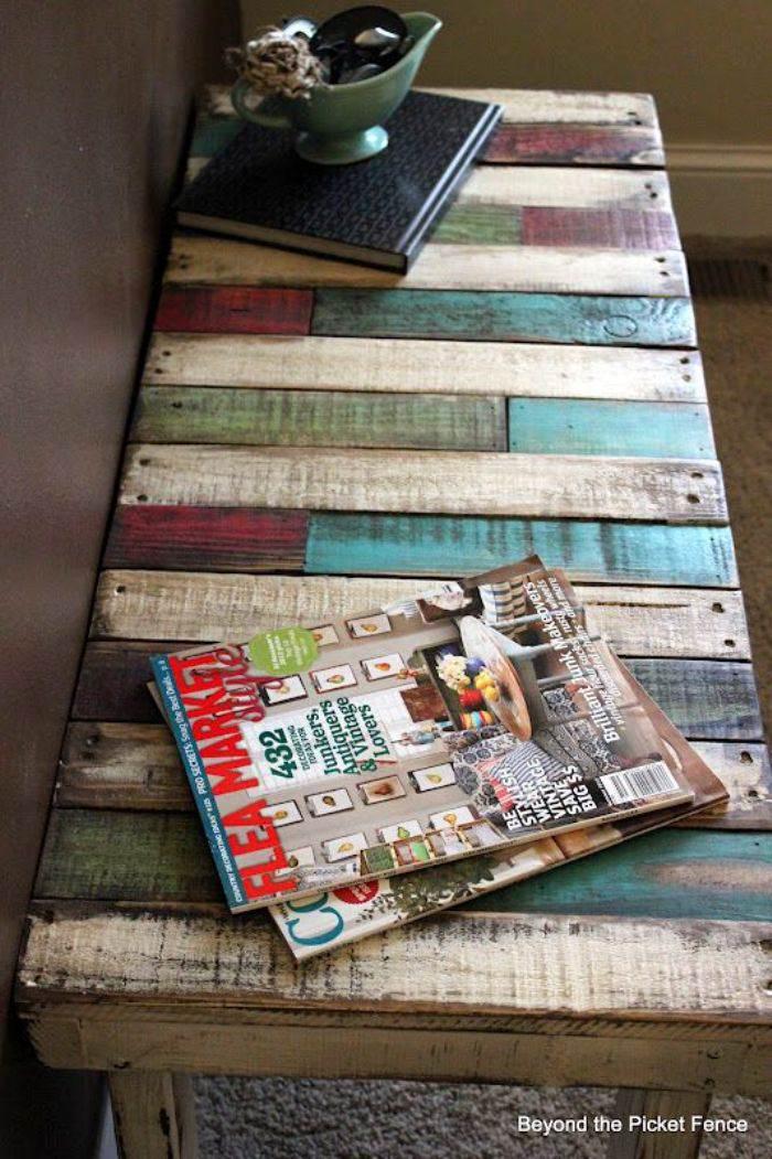 Reciclar palets de madera el taller de lo antiguo for Reciclar palets para muebles