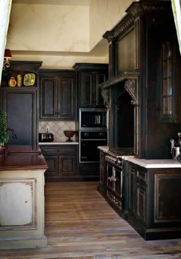 pintar cocina negra