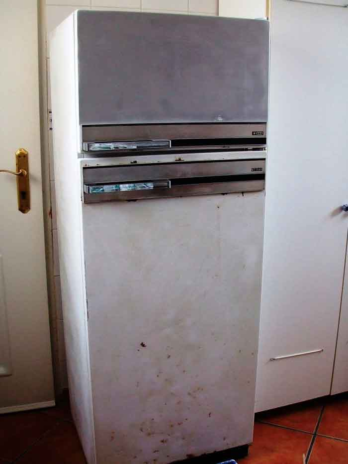 frigorífico antiguo