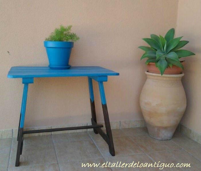 Pintar una mesa campestre
