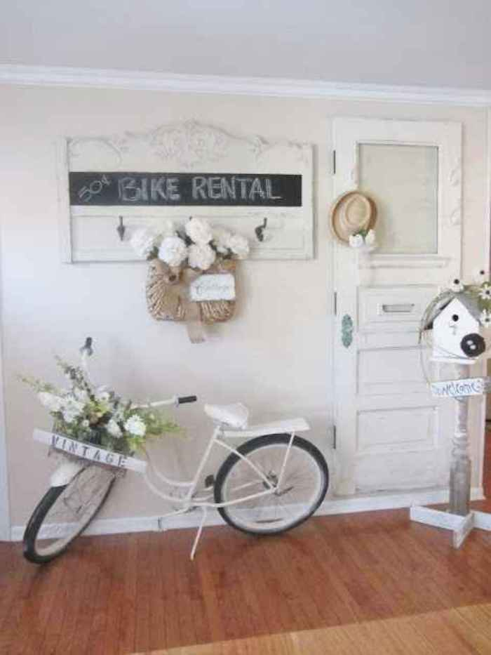 shabby chic bike rental