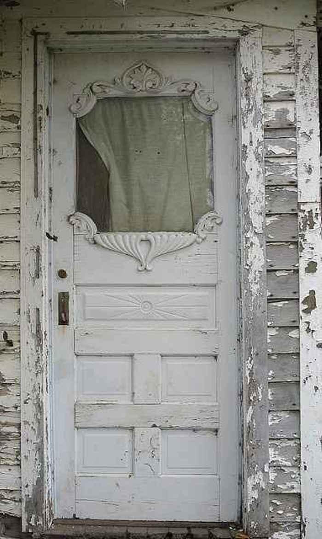 shabby chic puerta de entrada