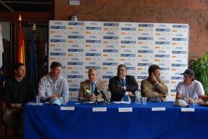 Presentacion de la competición deportivo-solidaria 'Talisker Whisky Atlantic Challenge'