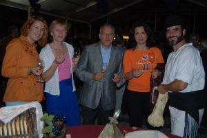 Fiesta del Vino que tuvo lugar en SanSebastian de La Gomera