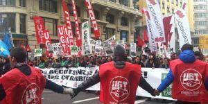 Manifestacion en Madrid contra la Ley Wert