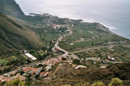 Vista parcial de Valle Gran Rey