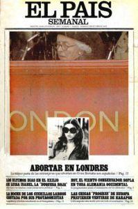 Abortar en Londres, reportaje de El Pais semanal en 1976