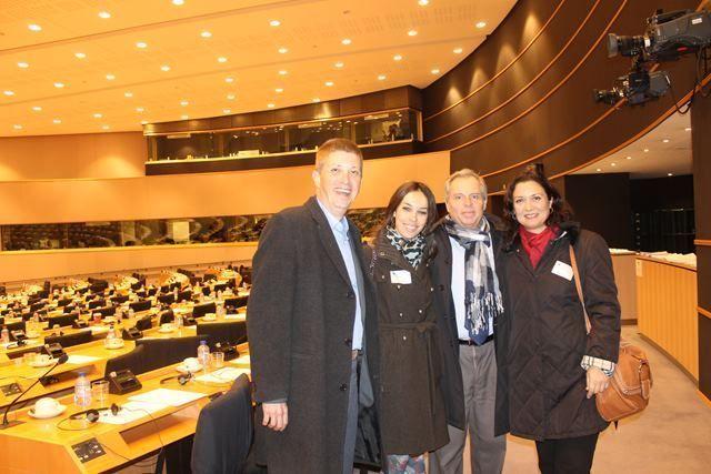 Viaje de delegación del Cabildo de La Gomera a Bruselas