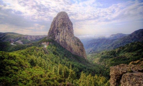 El Roque Agando, uno de los símbolos de La Gomera