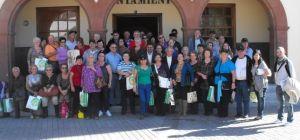 Foto de Familia de los visitantes de Taco