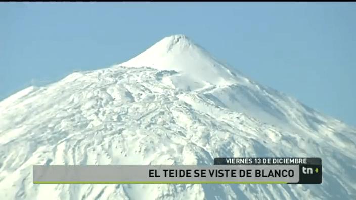 Imagen del Teide, RTVC