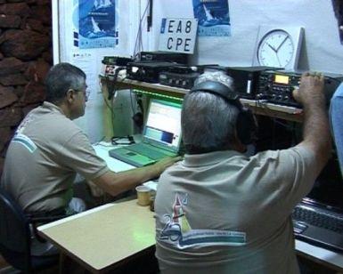 Radioaficionados de la URG, La Gomera
