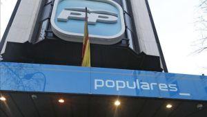 Sede del PP en Calle Genova, Madrid