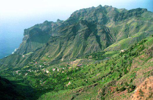 Taguluche, Valle Gran Rey, La Gomera