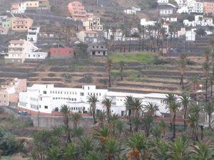 Vista del CEIP El Retamal, en Valle Gran Rey