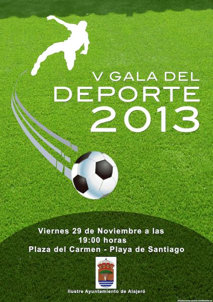 V Gala del Deporte, Alajero 2013
