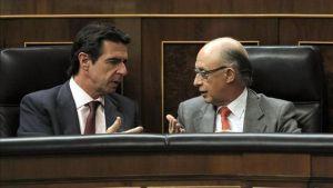 Los Ministros Montoro y Soria