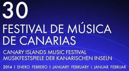 Cartel Festival de Musica de Canarias