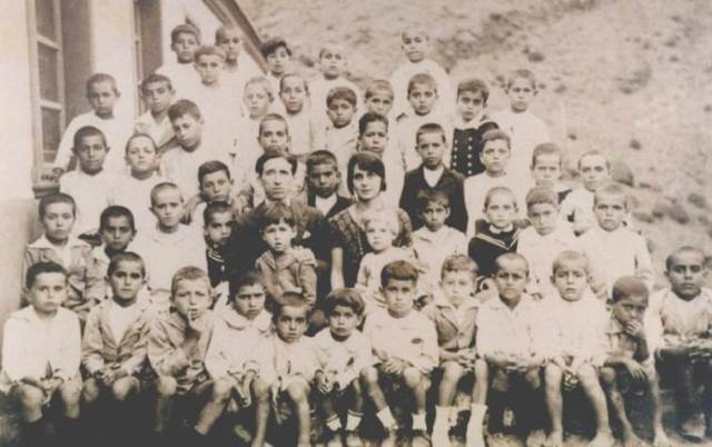 Escuela de Juan Rejón, Valle Gran Rey, Década de 1920