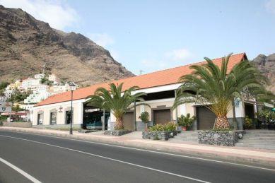 Estación de Guaguas de Valle Gran Rey, Lomo de Riego