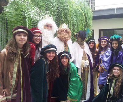 Los Reyes Magos en Agulo